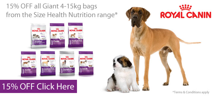 Royal Canin Giant Dog - 15% off