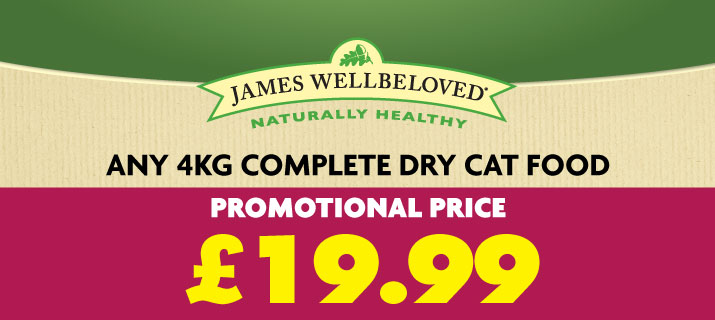 James Wellbeloved for Cats