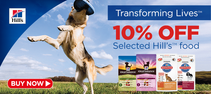 10% off Selected Hills Foods!