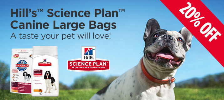 Hills Science Plan Large Bags