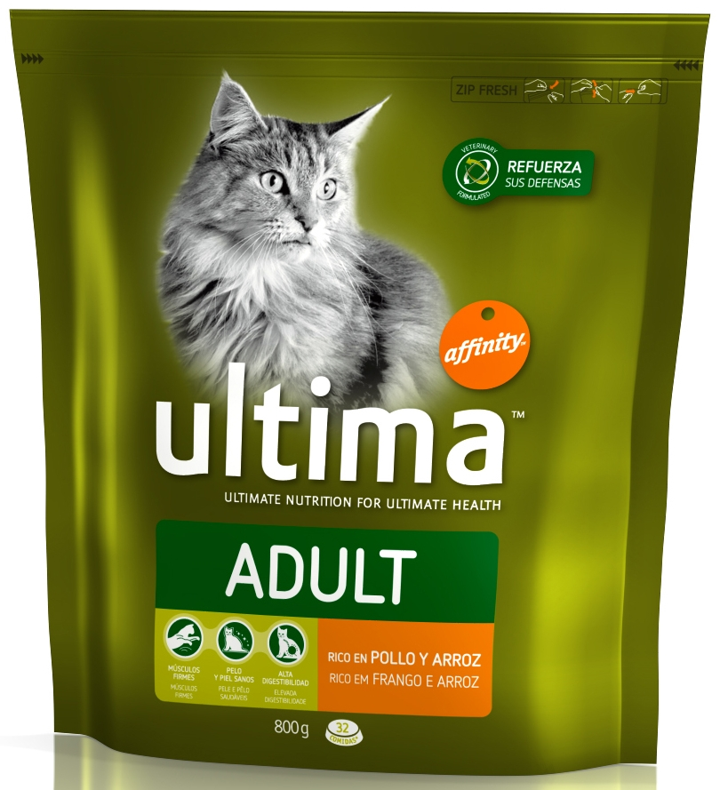 Ultima Adult Chicken & Rice Cat Food
