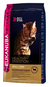 Eukanuba Adult Healthy Digestion Lamb Cat Food