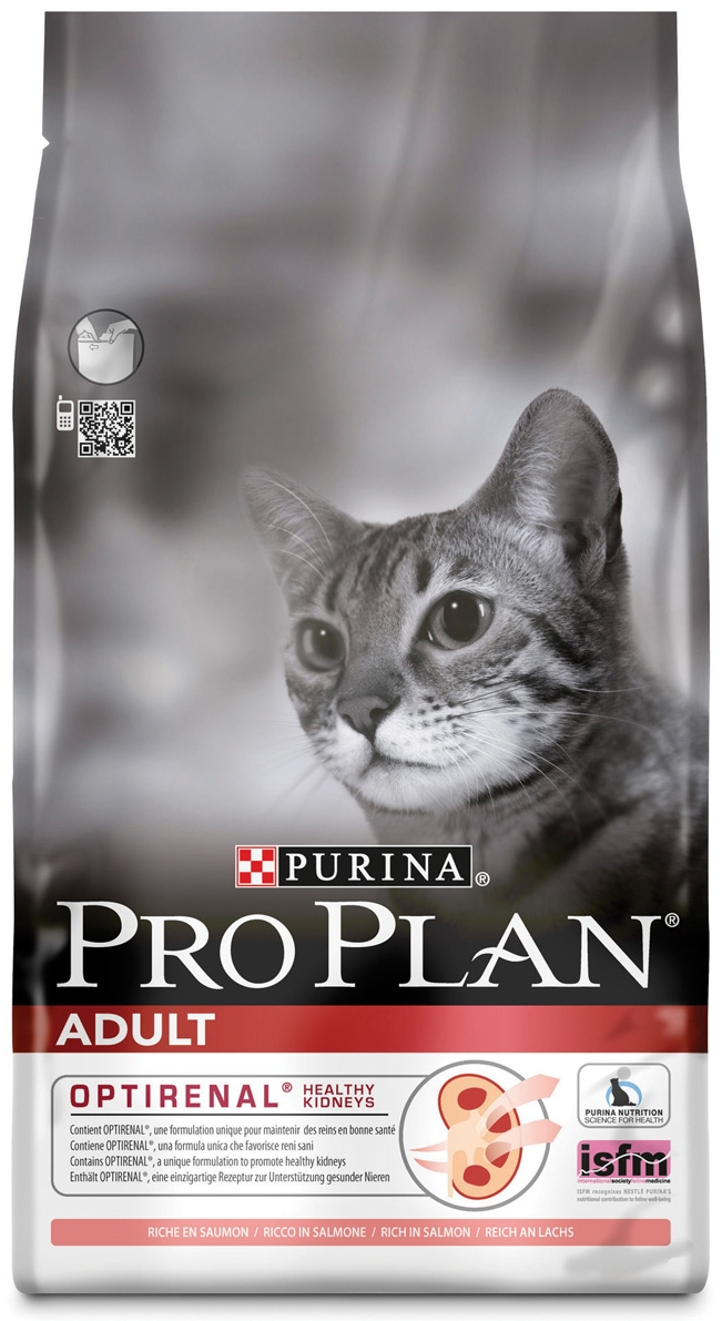 Purina Pro Plan Adult Rich in Salmon with OPTIRENAL Cat Food