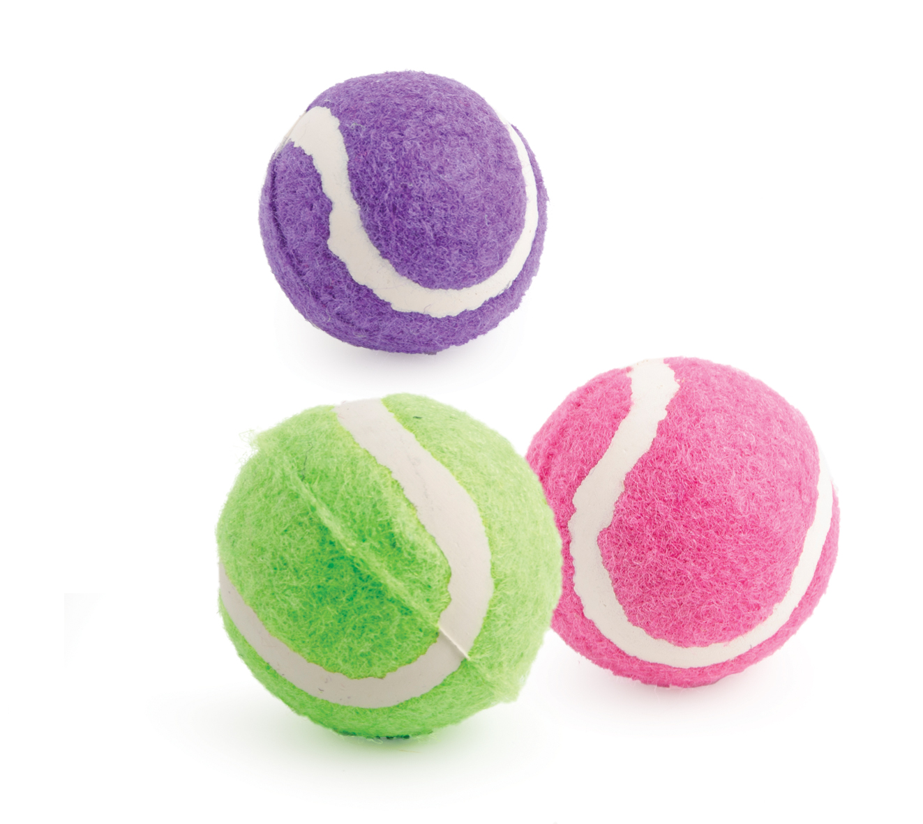 Ancol Small Bite Tennis Balls Small Dog & Puppy Toys