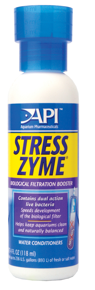 API Stress Zyme Aquarium Treatment