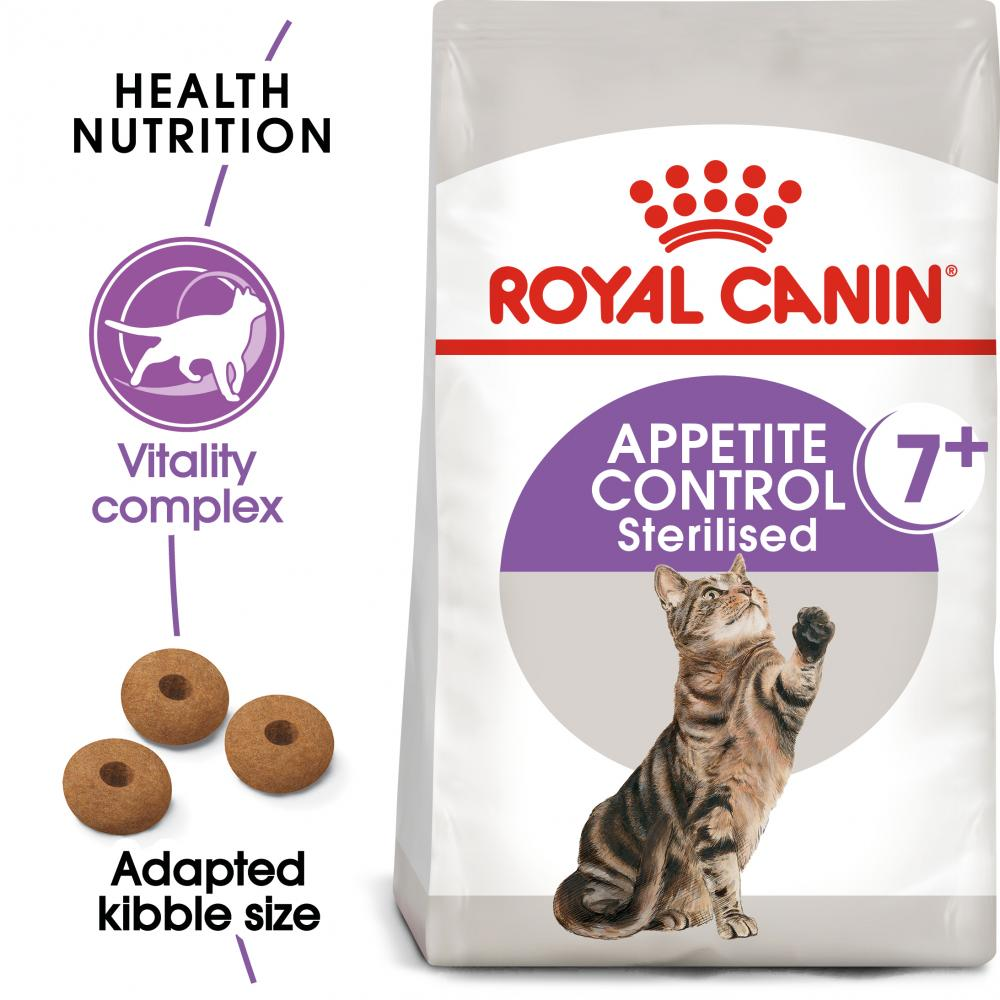ROYAL CANIN® Appetite Control Sterilised 7+ Adult Dry Cat Food