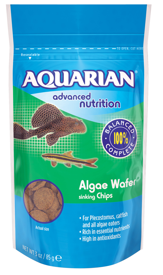 Aquarian Algae Wafer Aquarium Food