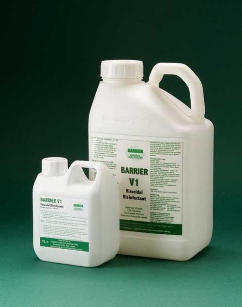 Barrier V1 Virucidal Disinfectant