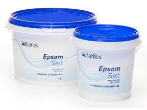 Battles Magnesium Sulphate (Epsom Salts) for Horses