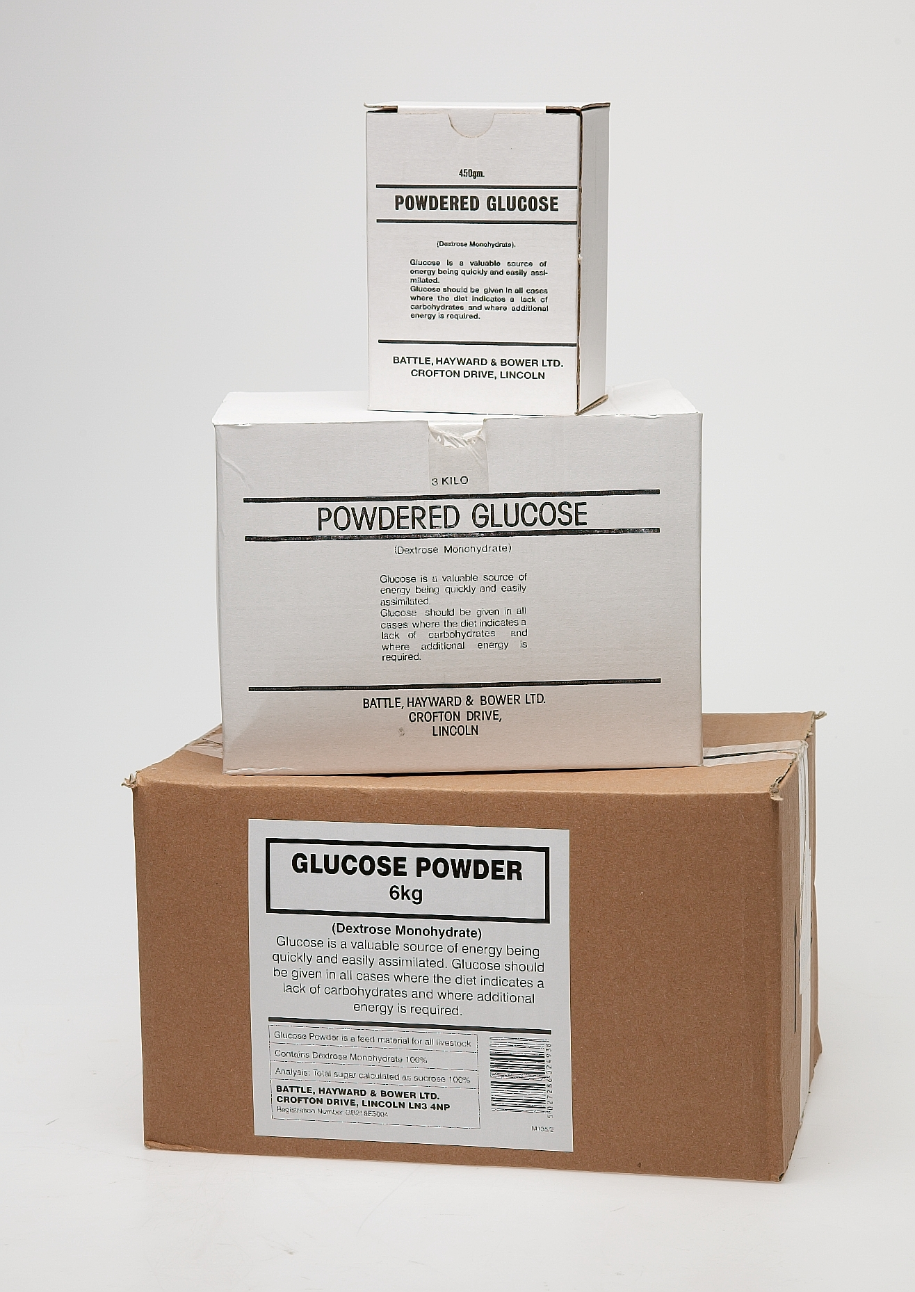 Battles Powdered Glucose