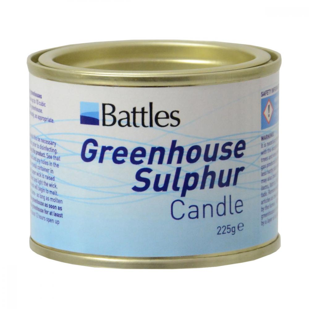 Battles Greenhouse Sulphur Candle