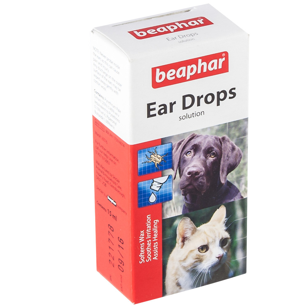 Beaphar Ear Drops for Dogs & Cats
