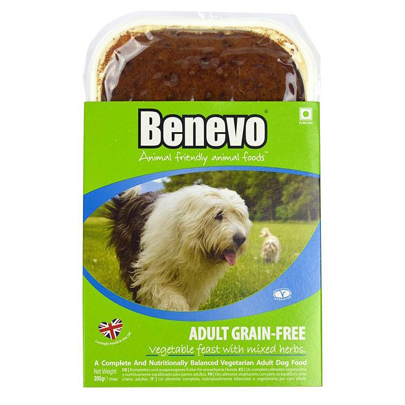 Benevo Grain-free Vegetable Feast With Mixed Herbs Dog Food