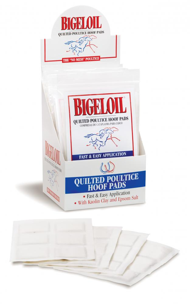 Bigeloil Quilted Poultice Hoof Pad