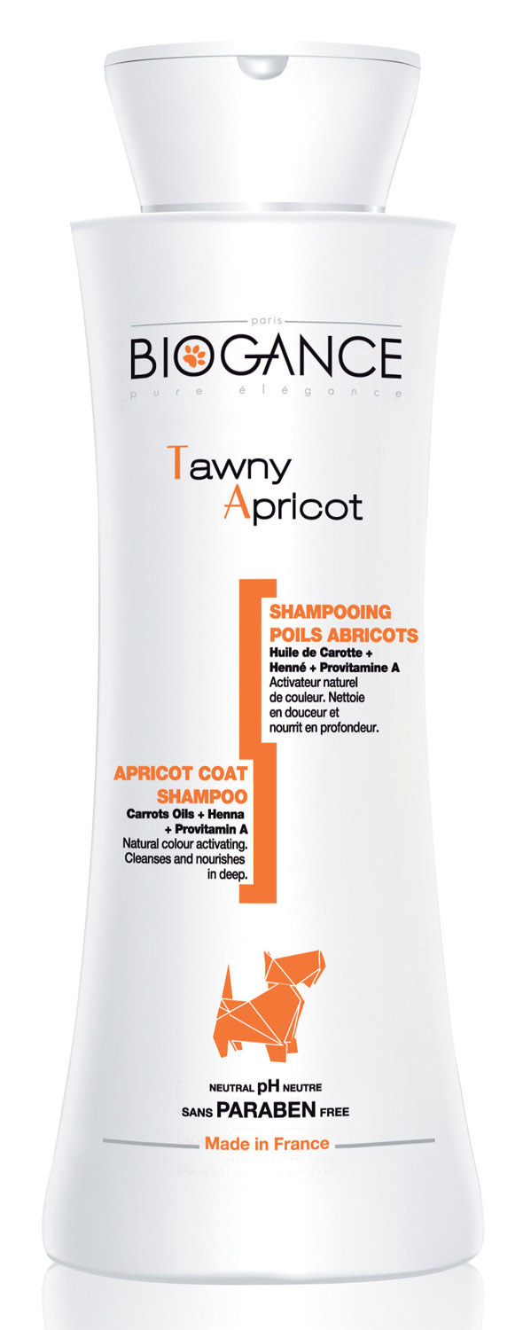 Biogance Tawny Apricot Shampoo for Dogs & Cats