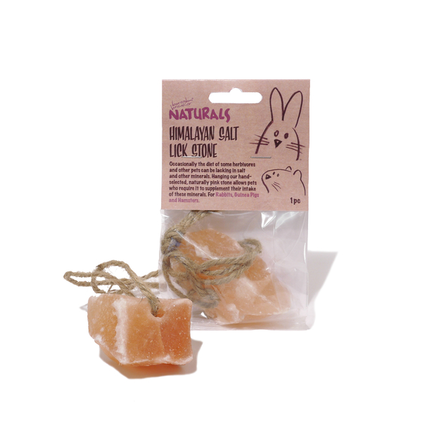 Boredom Breaker Himalayan Salt Lick Stone for Small Animals