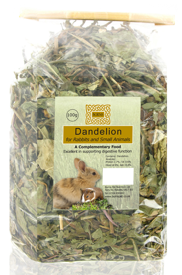 Burns Dandelion for Small Animals