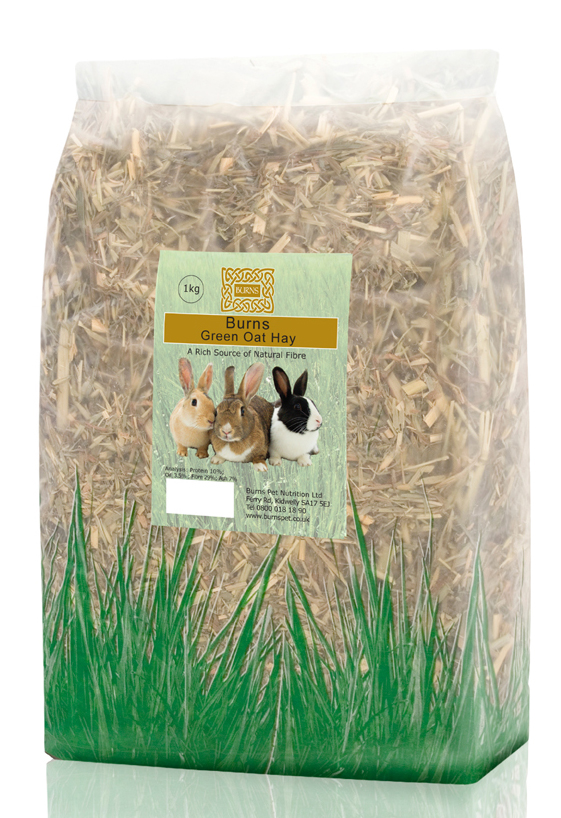 Burns Green Oat Hay for Small Animals