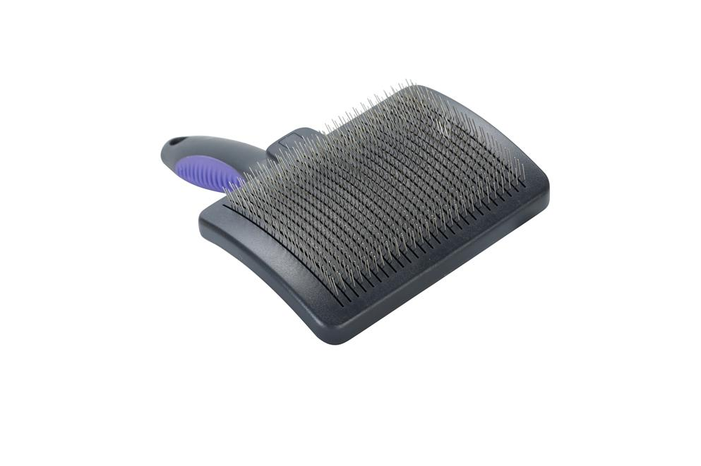 Buster Self Clean Slicker Brush for Dogs
