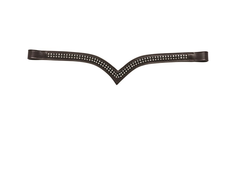 Caldene 2 Row Diamante Browband