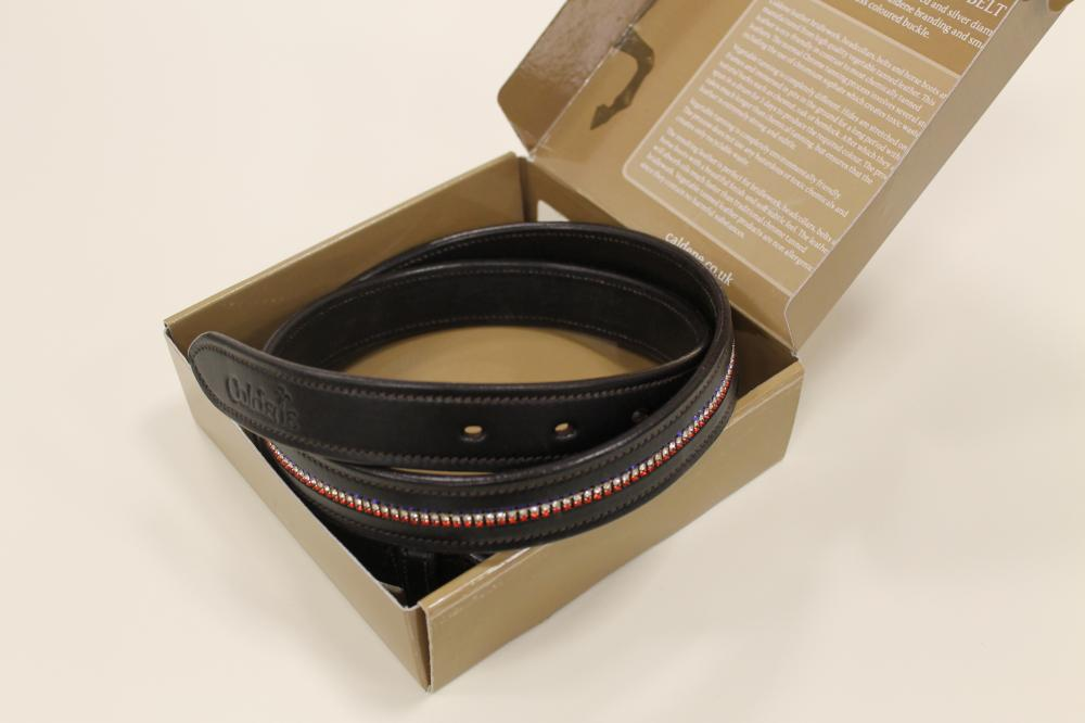 Caldene Patriot Leather Belt