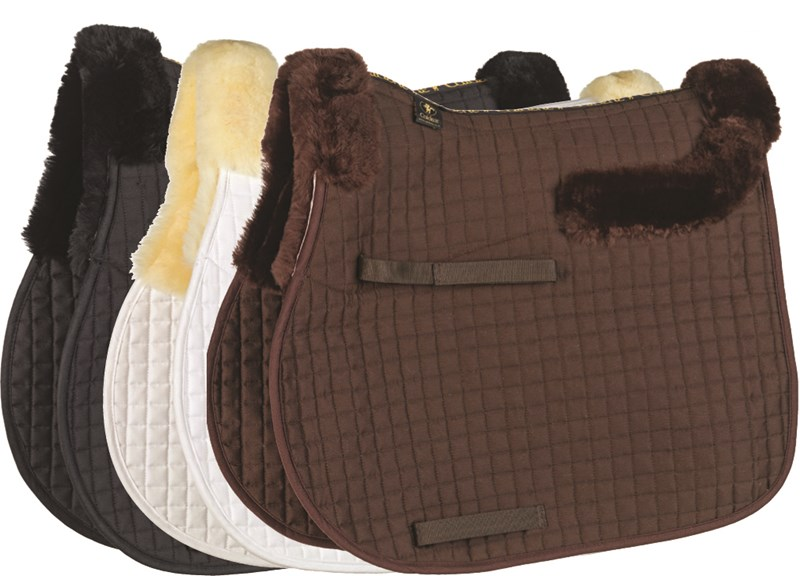 Caldene Sheepskin Half Lined GP Saddlecloth