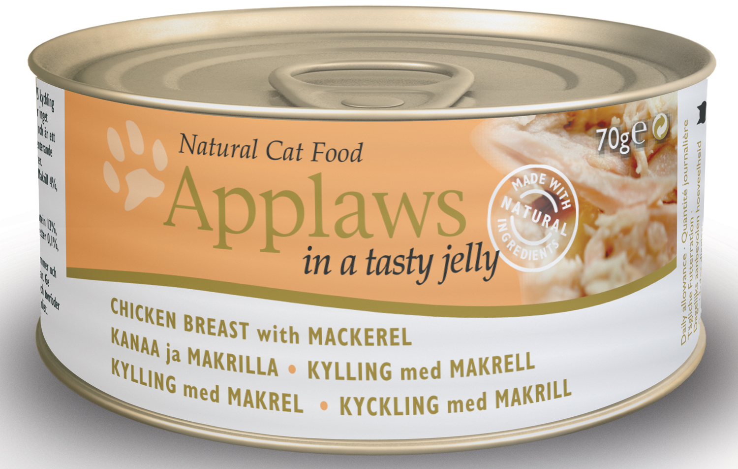 Applaws Natural Chicken Breast with Mackerel Cat Food