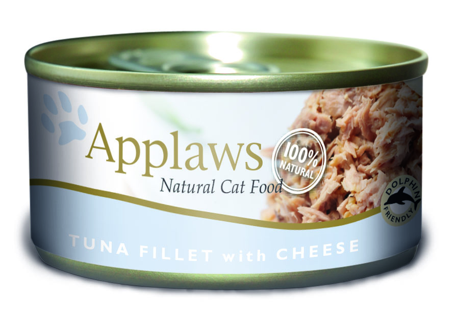 Applaws Natural Tuna Fillet with Cheese Cat Food