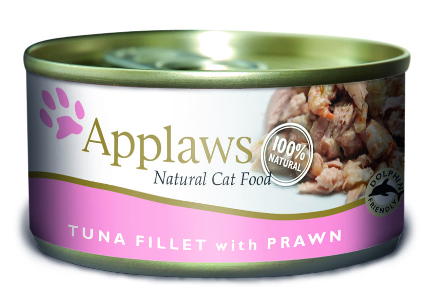 Applaws Natural Tuna Fillet with Prawn Cat Food
