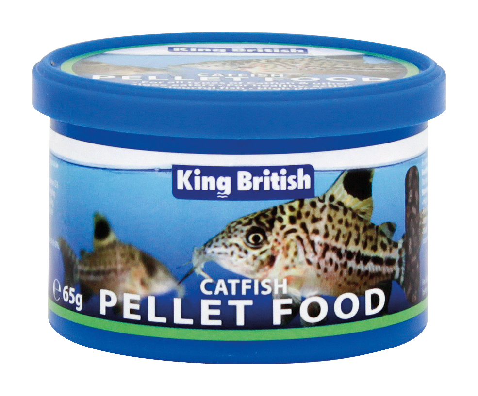 King British Catfish Pellets With IHB