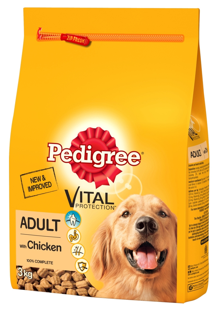 Pedigree Adult Vital Protection Chicken Dog Food