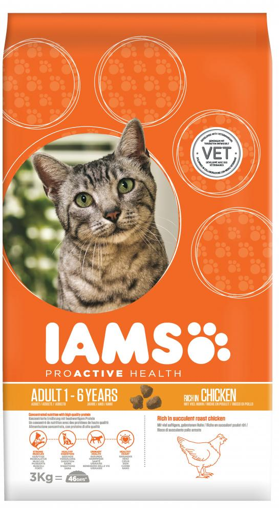 Iams Proactive Health Adult Chicken Cat Food