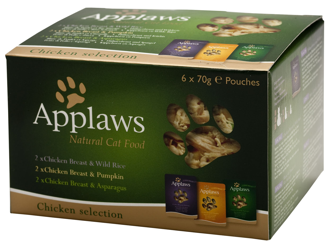 Applaws Natural Chicken Selection Multipack Cat Food