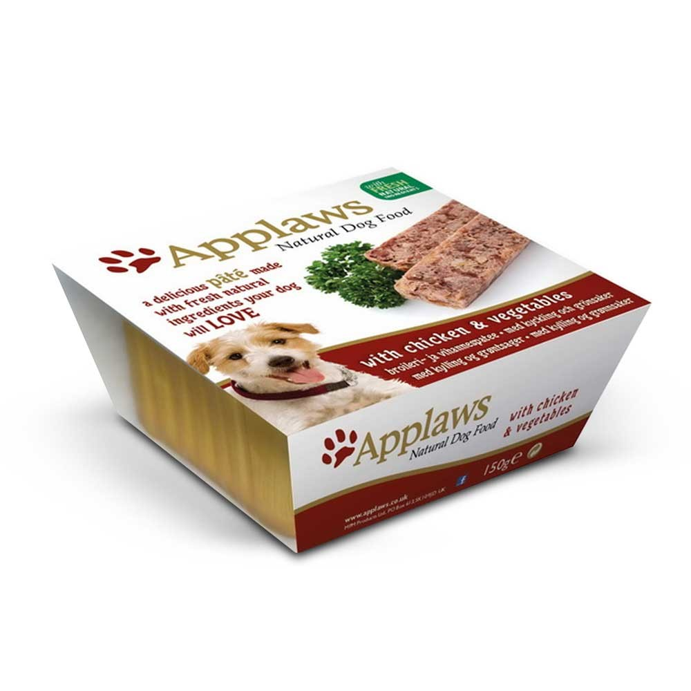 Applaws Pâté With Chicken & Vegetables Dog Food
