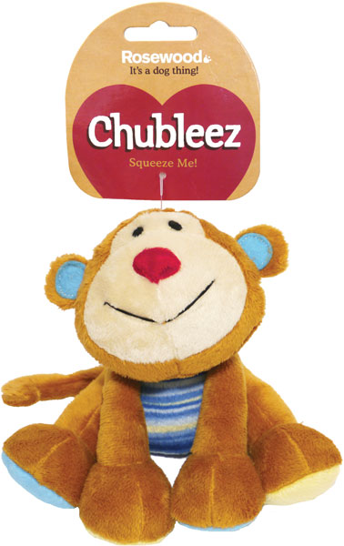 Chubleez Marvin Monkey Mini Dog Toy