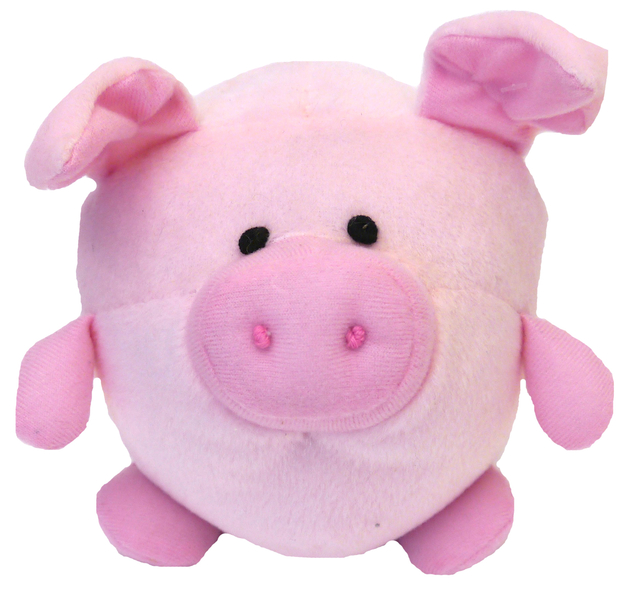 Chubleez Piggie Ball Dog Toy