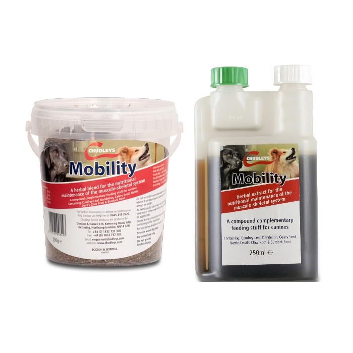 Chudleys Mobility Joint Supplement for Dogs