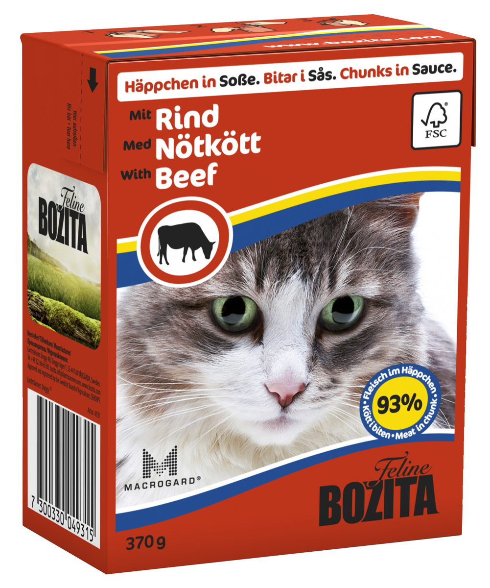 Bozita Chunks in Sauce Cat Food