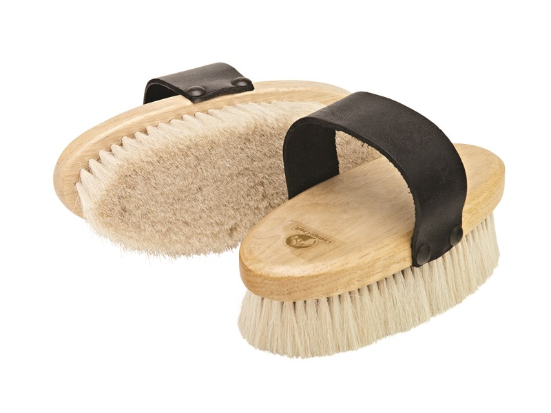 Cottage Craft Goat Hair Body Brush