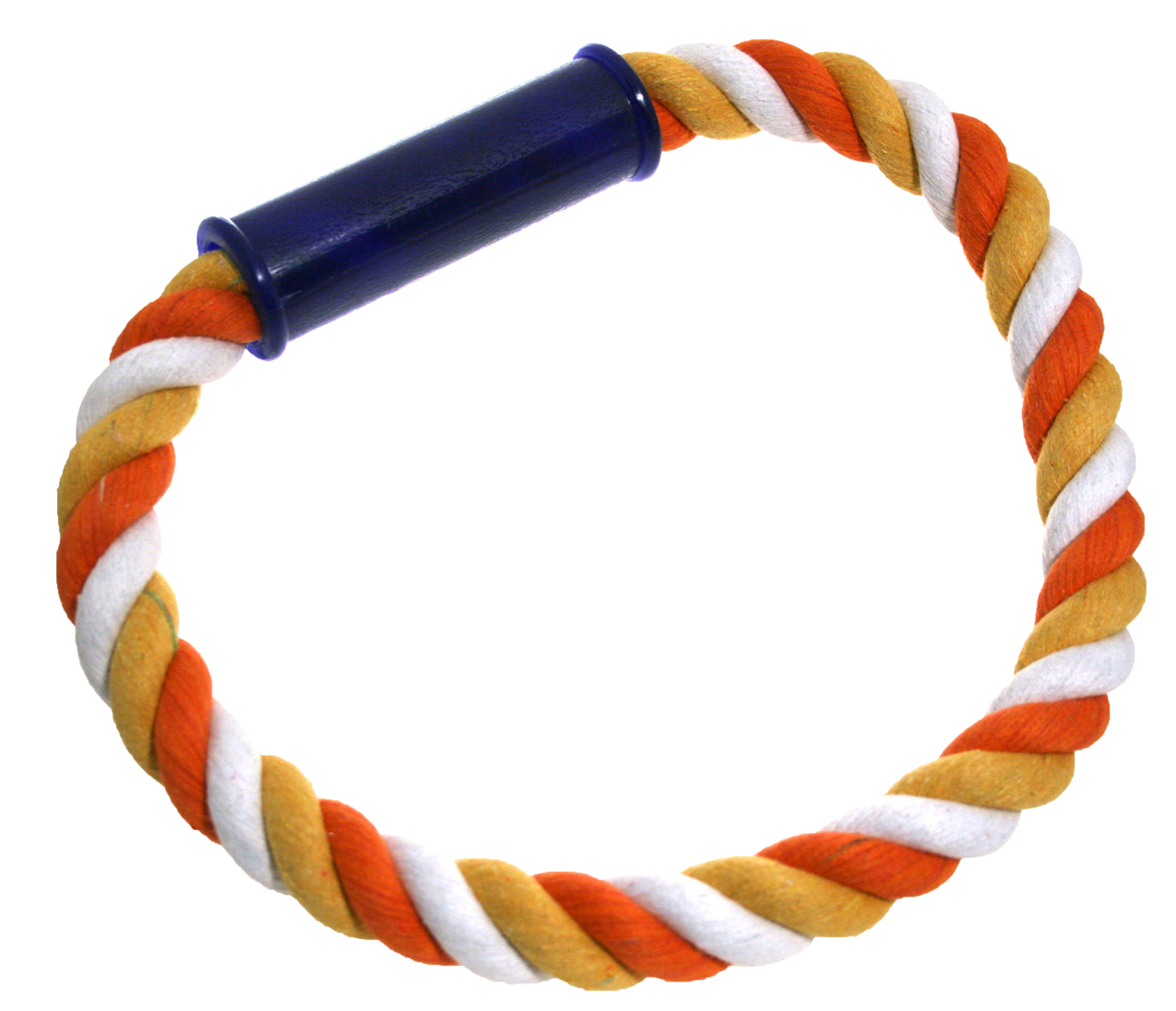 James & Steel Cotton Rope Ring Dog Toy