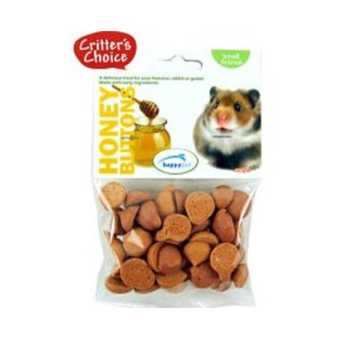 Critter's Choice Honey Buttons Small Animal Treats