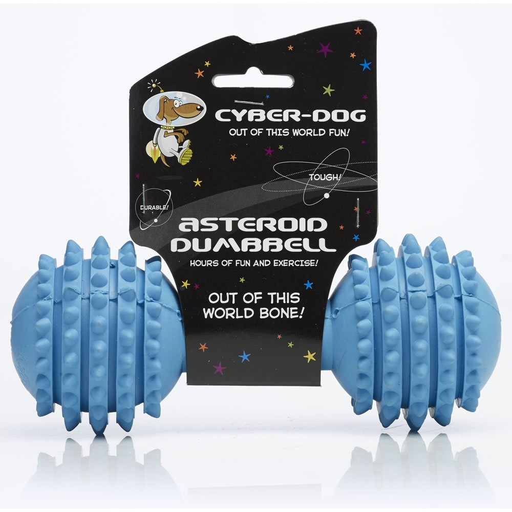 Cyber-Dog Asteroid Dumbbell Dog Toy