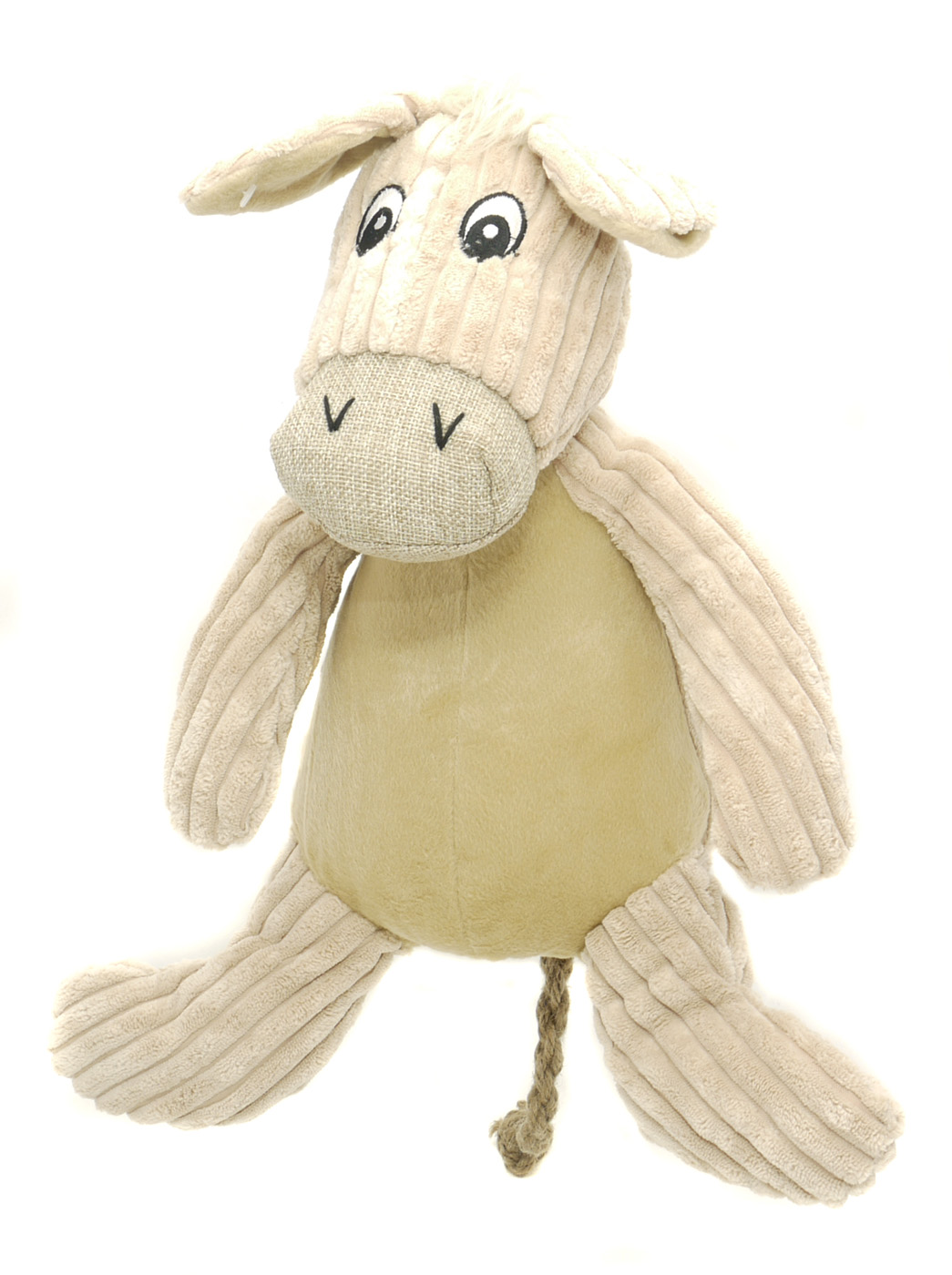 Danish Design Doris the Natural Donkey Dog Toy