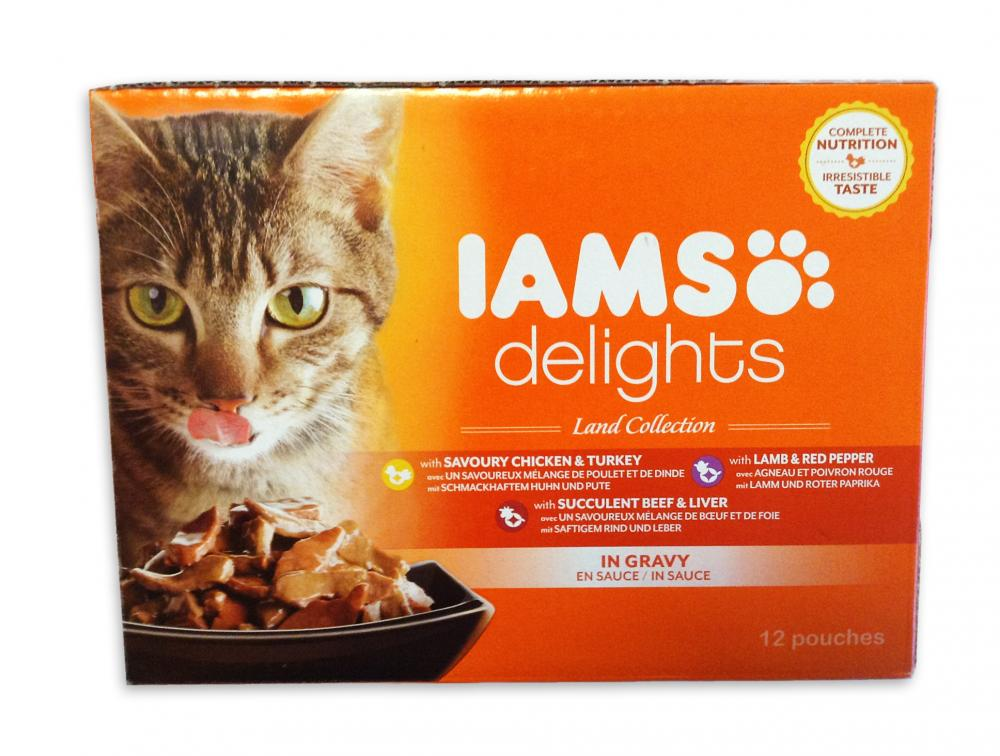 Iams Delights Cat Food