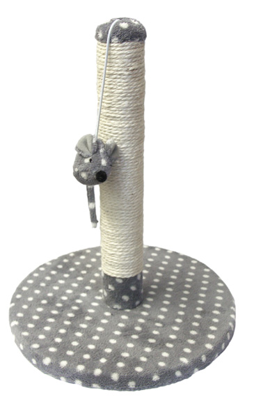 Cat Walk Collection Dijon Kitten Plush Scratching Post