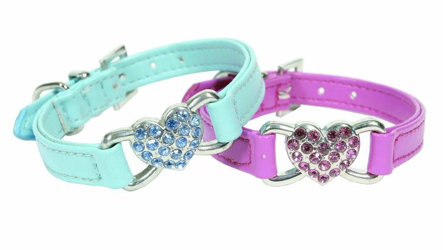 Doggy Things Dinky Hearts Dog Lead