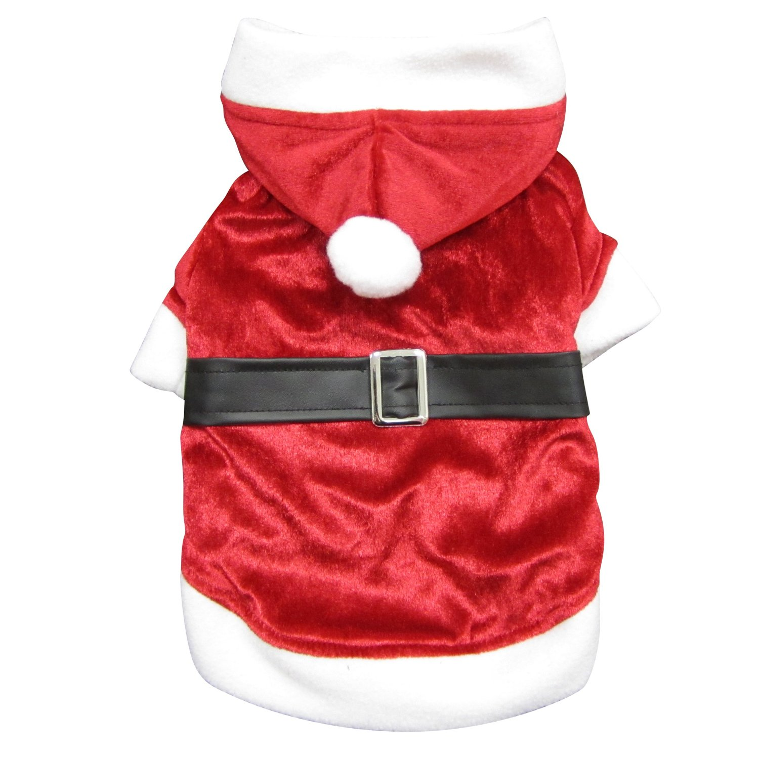 Dogit Santa Style Hoodie for Dogs