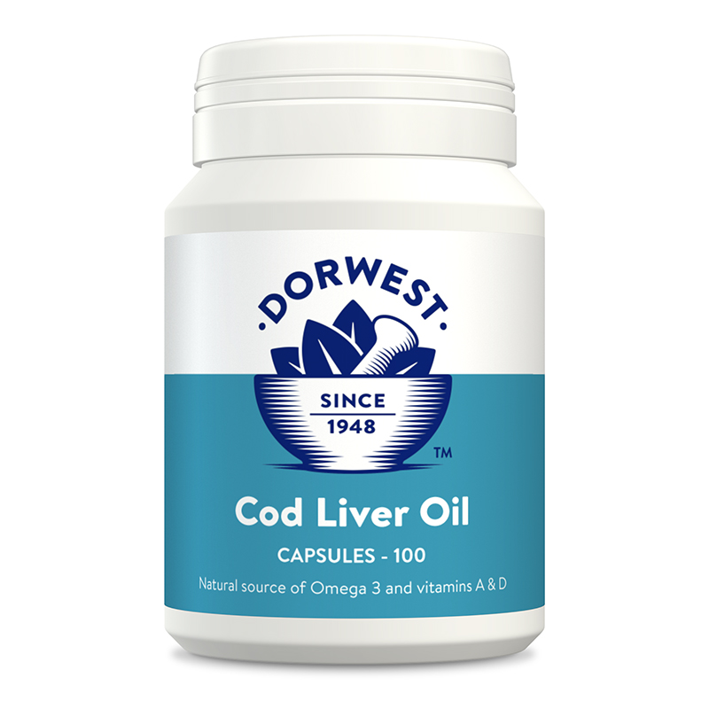 Pets At Home Dogs Cod Liver Oil Capsules