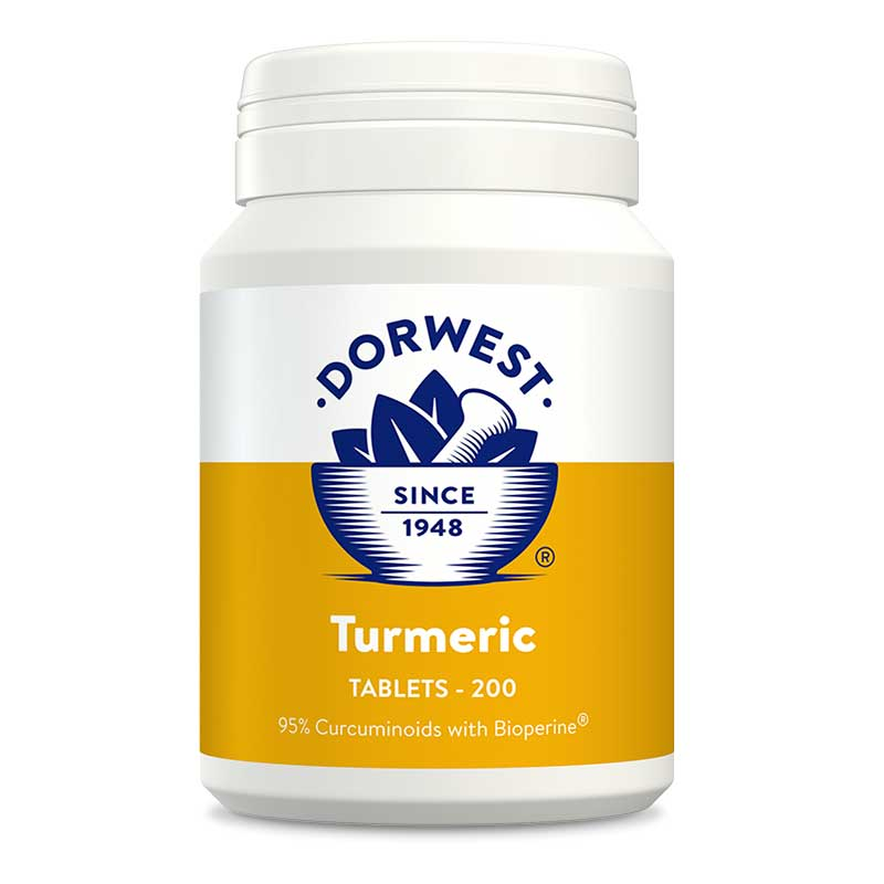 Dorwest Turmeric Tablets For Dogs And Cats