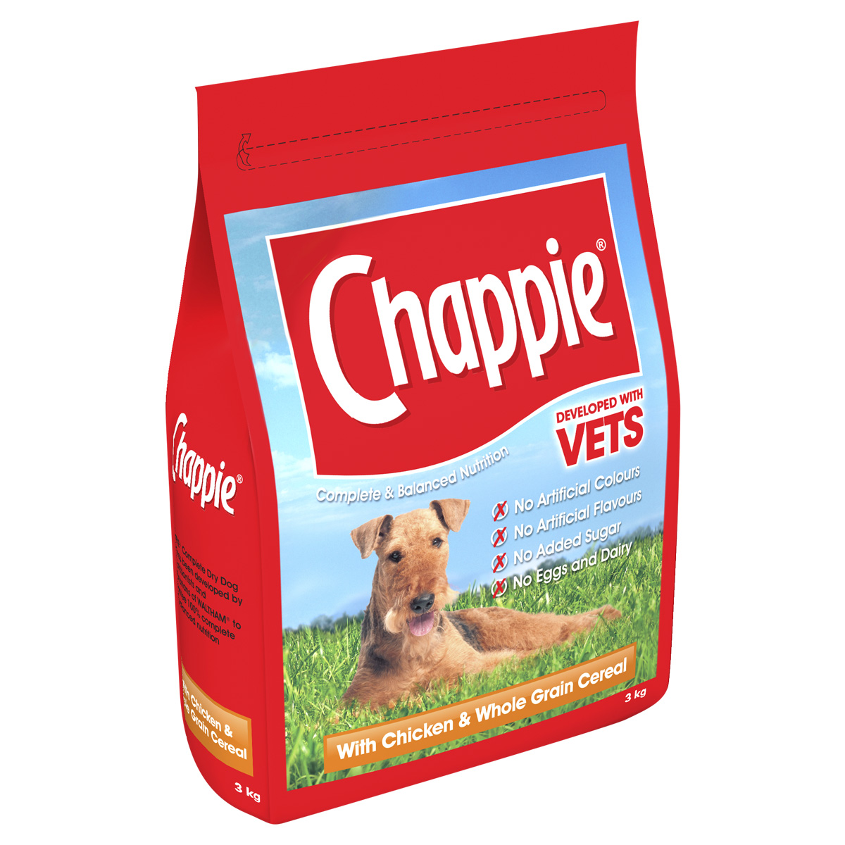 Chappie Dry Chicken/Original Beef & Wholesome Rice 🐶 Dog Food